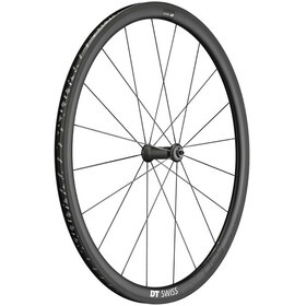"DT Swiss PRC 1400 Spline 35 Forhjulsdæk 28"" Carbon 100/5mm QR, black"